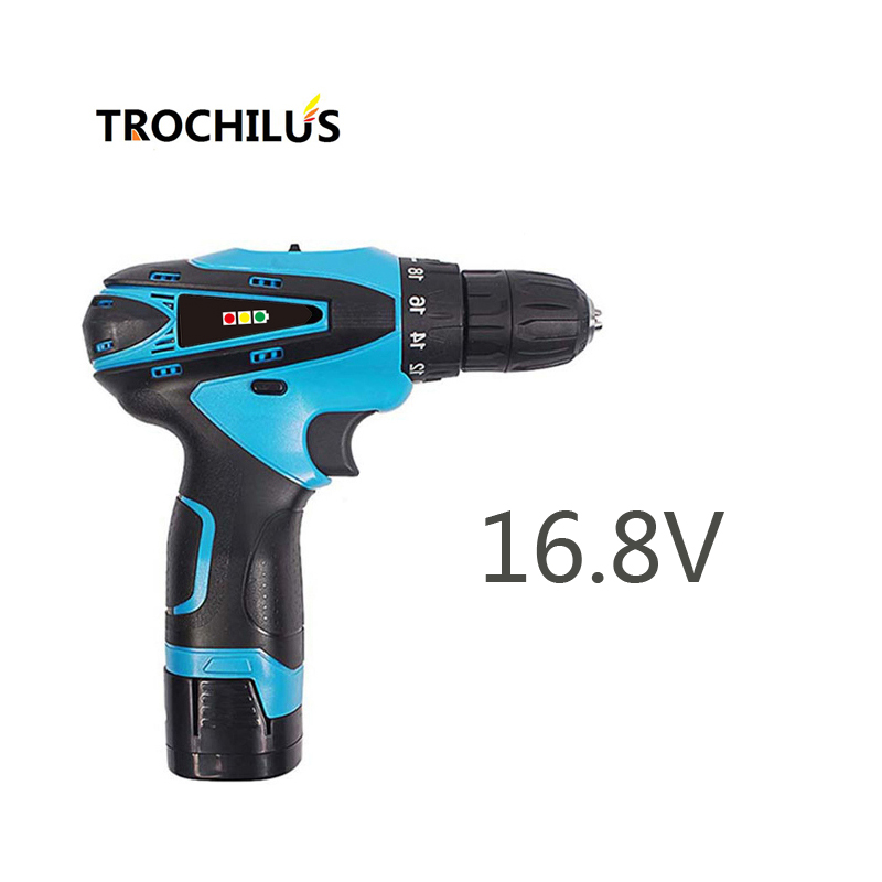 16.8V electric tool mini drill multi-function cordless drill Screwdriver with lithium battery LED miniature electric drill мультитул swisstech mini multi tool st35000