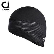 CHEJI  Thermal Fleece Cycling Cap Waterproof Windbreak Caps Outdoor Climbing Running Keep Warm Hood Hat