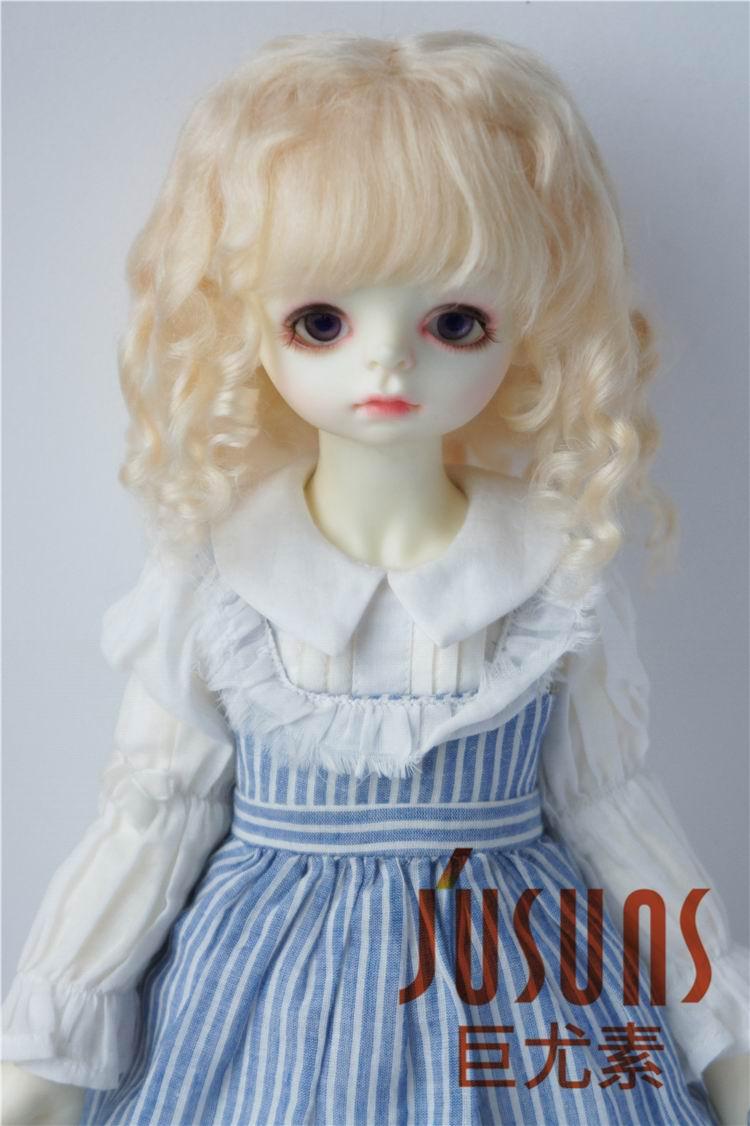 JD162 1/3 BJD wigs, Romantic Sauvage mohair doll wigs  8-9inch SD doll accessories 1pcs bjd sd doll wigs accessories 15cm