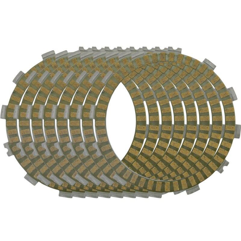 LOPOR 8pcs Friction Clutch Plates for Honda CR250R 90-07 CRF450R 02-10 CRF450X 05-13 CB500F CB500X CBR500R 13 CR500R 90-01