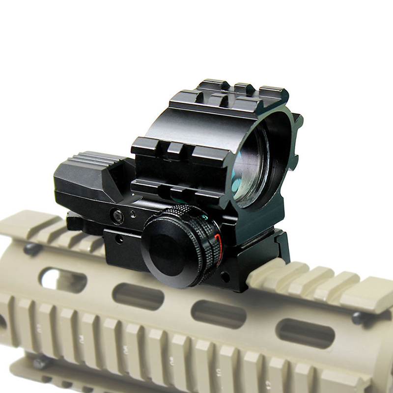 Hunting airsoft tactical red dot sight Red Green Dot Reflex Sight Scope Tactical Holographic for hunting rifle tactical rmr reflex mini red dot sight scope without on off button for hunting airsoft shooting rl5 0033