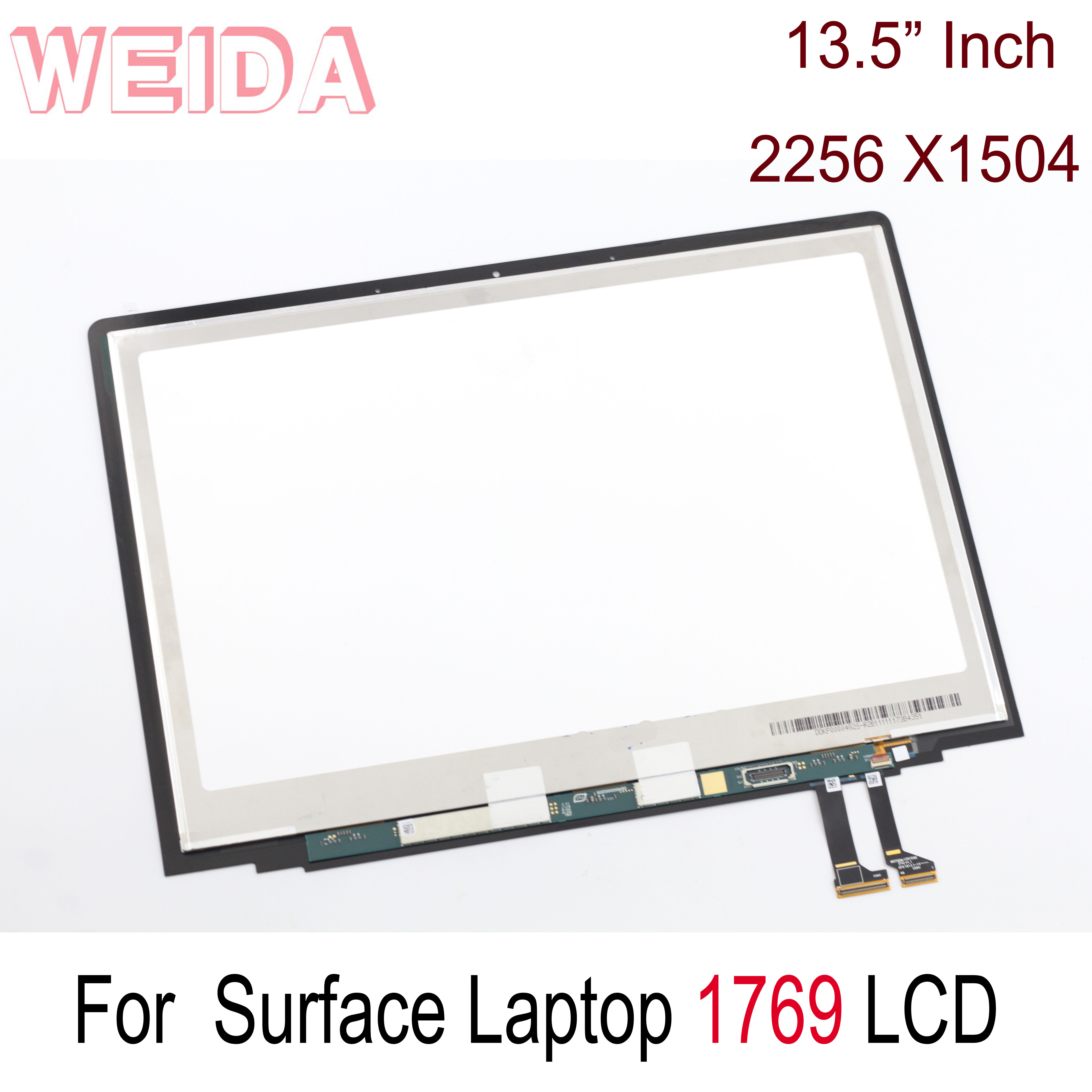 WEIDA LCD Replacment For Microsoft Surface Laptop 1769 LCD Display Touch Screen Assembly 13.5