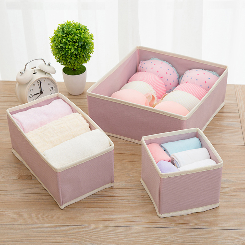 Underwear-Organizer Scarf Container Dividers-Case Storage-Box Drawer Wardrobe Foldable