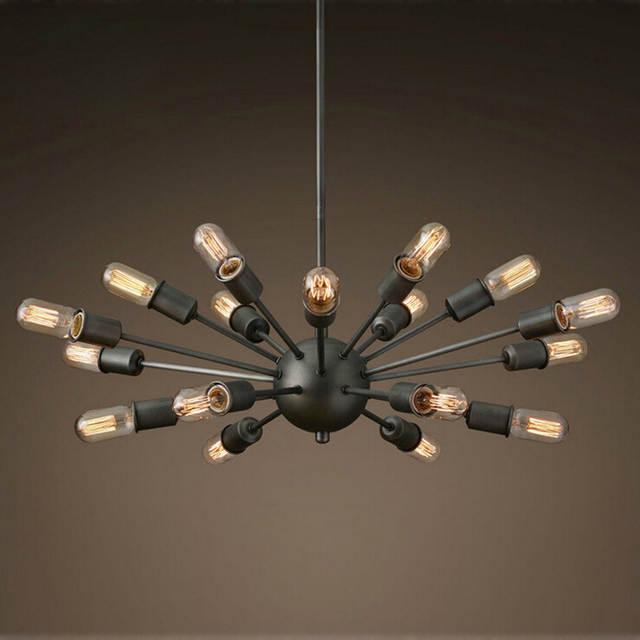 Chandeliers Black Wrought Iron Lighting