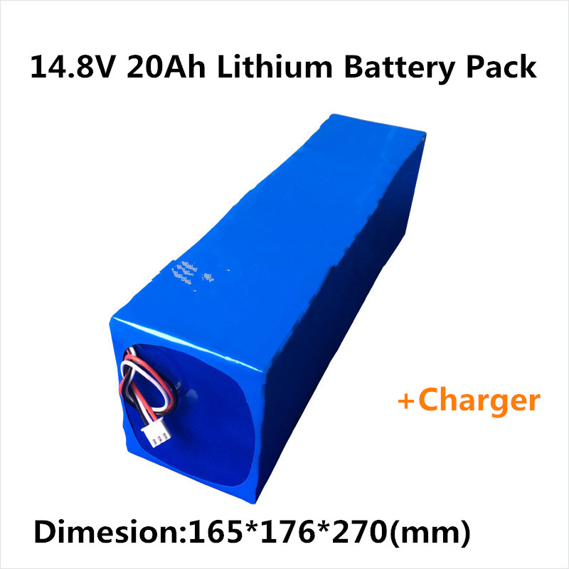 Rechargeable 18650 Lithium Ion Battery Pack 14 8v 20ah For