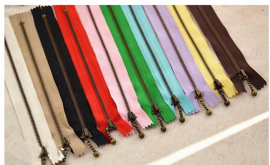 black 10pcs Nylon Metal Zipper Sewing for Jeans 15cm 6 Inches Sewing Zipper z23