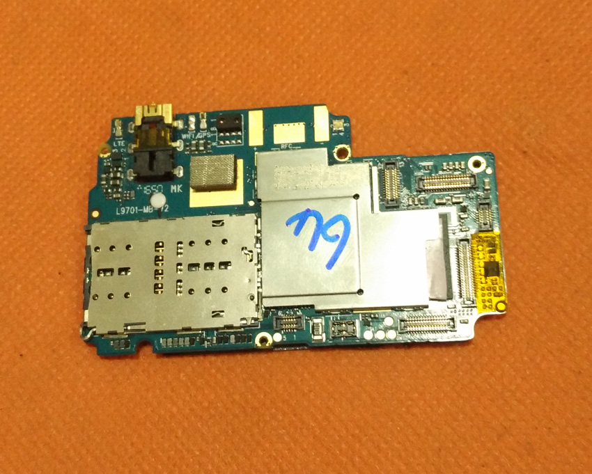 Used Original mainboard 3G RAM 32G ROM Motherboard for Elephone S7 Helio X20 Deca Core 5