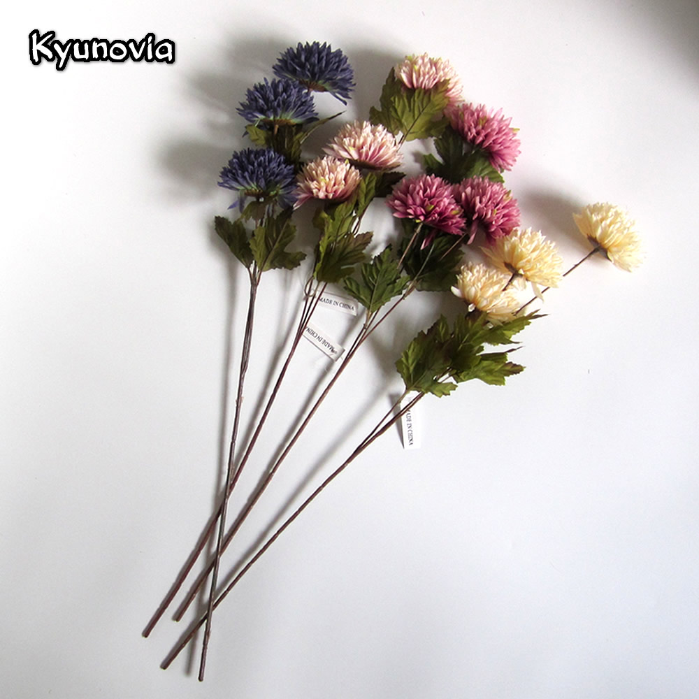 Kyunovia artificial dahlia stem faux spider dahlia flower high kyunovia artificial dahlia stem faux spider dahlia flower high quality silk flowers for home hotel wedding office decor ky09 in artificial dried flowers mightylinksfo
