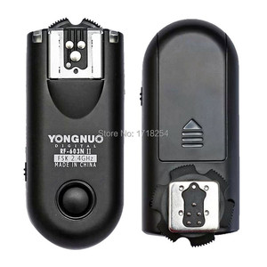 Image 1 - Yongnuo RF 603 II C1 ، RF 603 II فلاش الزناد 2 أجهزة الإرسال والاستقبال لكانون 1000D/450D/400D/750D/760D/600D/500D/550D/650D/700D