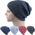 2016 Beanies Knit Men and women  Winter Hat Caps Skullies Bonnet Winter Hats For unisex Beanie Warm Baggy Knitted Hat R123