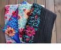2016 Женщина Шарфы/Шарф Индия Непал Туризма шелковый шарф вышитые цветы белье Пашмины шарфы и shunju ll