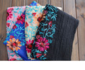 2016 Woman Scarves/Scarf India Nepal Tourism silk scarf embroidered flowers linen Pashmina scarves and shunju ll