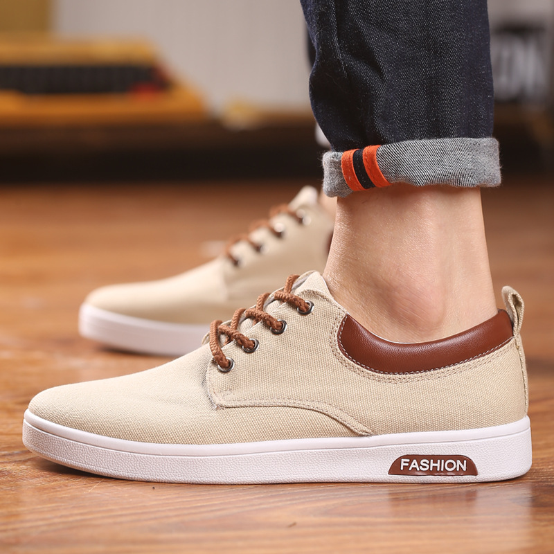 2017 Summer New Trend of Korean Men Shoes Casual Shoes Breathable Teenagers All match Canvas Shoes