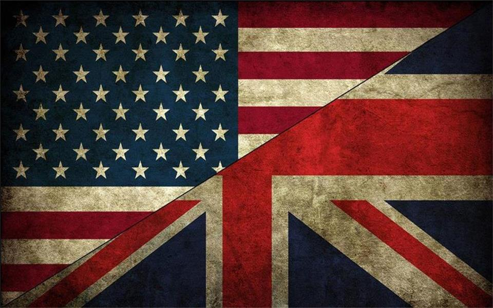 Us 141 53 Offcustom Size 3d Photo Wallpaper Living Room Mural United States Flag British Flag Background Wall Non Woven Wallpaper For Wall 3d In