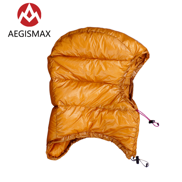 AEGISMAX Goose Dow Hood Hat for Envelope Sleeping Bag 1