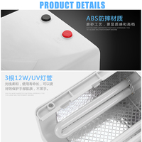 Free Shipping High Quality 36W UV Lamp 220V EU Plug Nail Lamp Professional Gel Nail