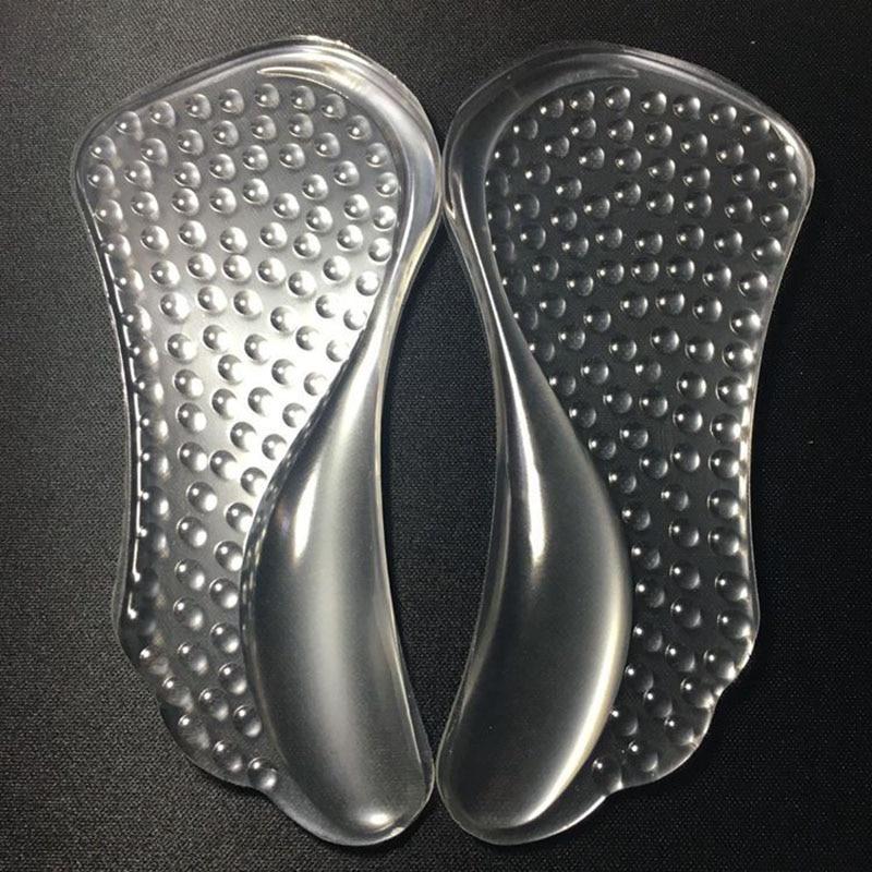 1 Paar Silikon Für Frauen Orthesen Arch Support Gel Pads Nicht-relief Flache Füße Zu Verhindern Fuß Kokon Schuhe Einlegesohlen