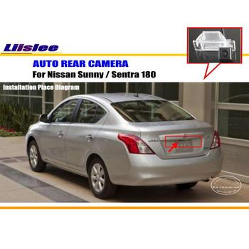 Liislee Car Rear Camera For Nissan Sunny / Sentra 180 / Back Parking Camera / HD CCD RCA NTST PAL / License Plate Light Camera image