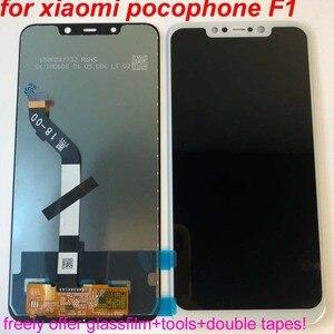 "Image 1 - 2020 ใหม่ 100% GRF @ WENO LCD สำหรับ 6.18 ""Xiaomi poco F1 จอแสดงผล LCD Touch Screen Digitizer ASSEMBLY สำหรับ xiaomi Mi Pocophone F1 LCD"