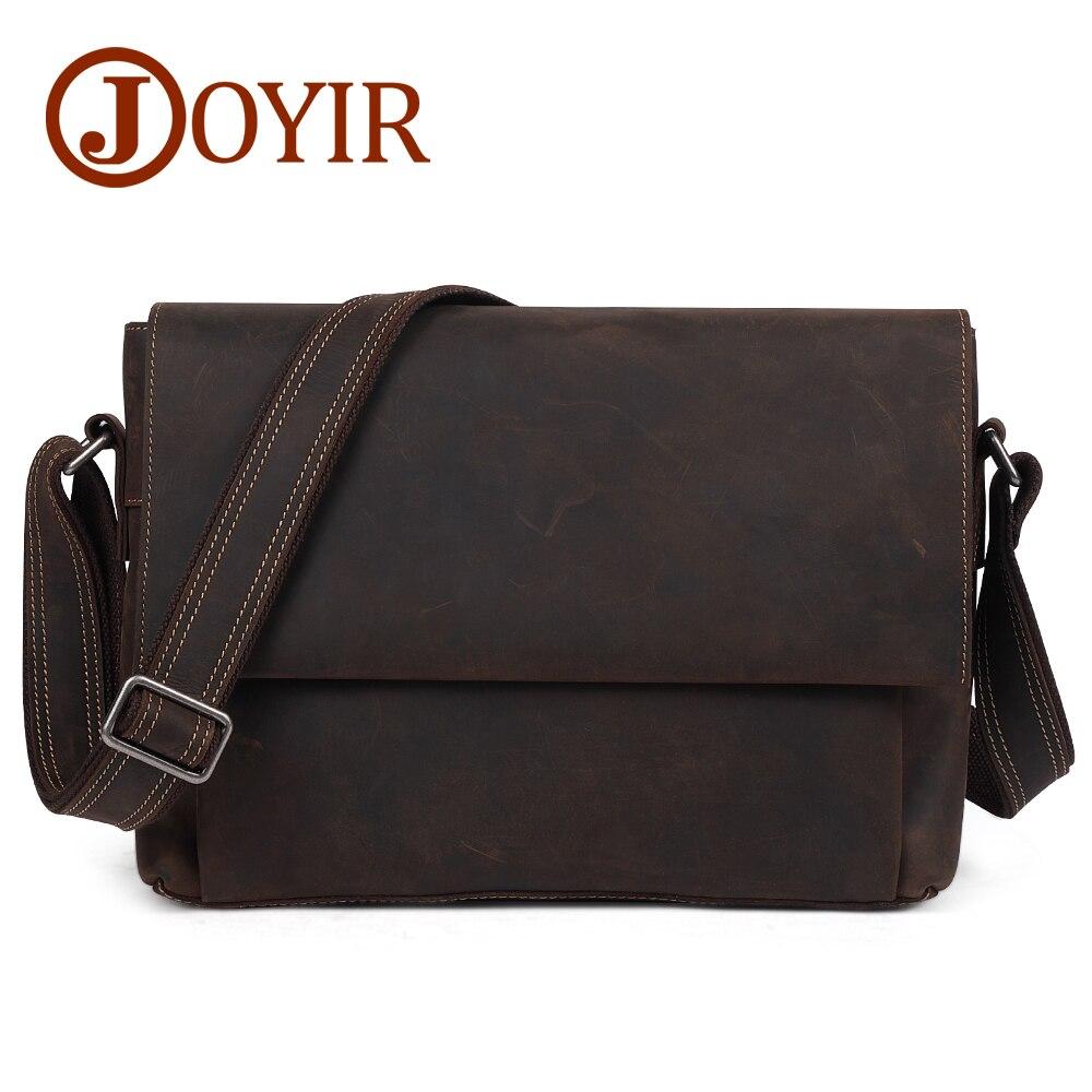 275becf25c90 JOYIR натуральная кожа повседневная мужская сумка 13
