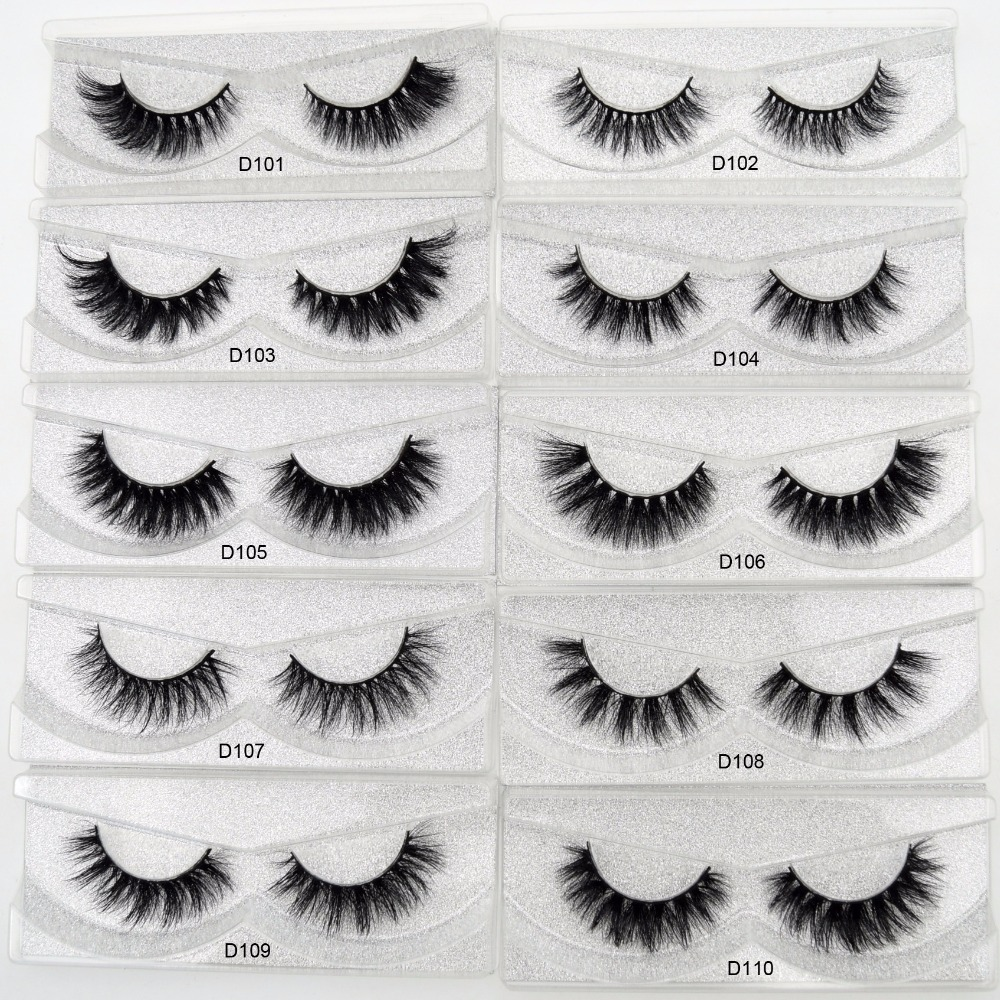 Image 2 - Free DHL 100pairs Visofree Eyelashes 3D Mink Lashes Handmade Mink Dramatic Lashes 68styles cruelty free reusable lashes wholsale-in False Eyelashes from Beauty & Health