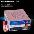 Полностью автоматическое автомобильное зарядное устройство 110 В/220 В  интеллектуальное импульсное Ремонтное зарядное устройство типа 12 В/24 ...