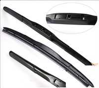 26 14 High Hybrid 3 Section Rubber Windscreen Wipers Wipers Blade For KIA Ceed JD 2012