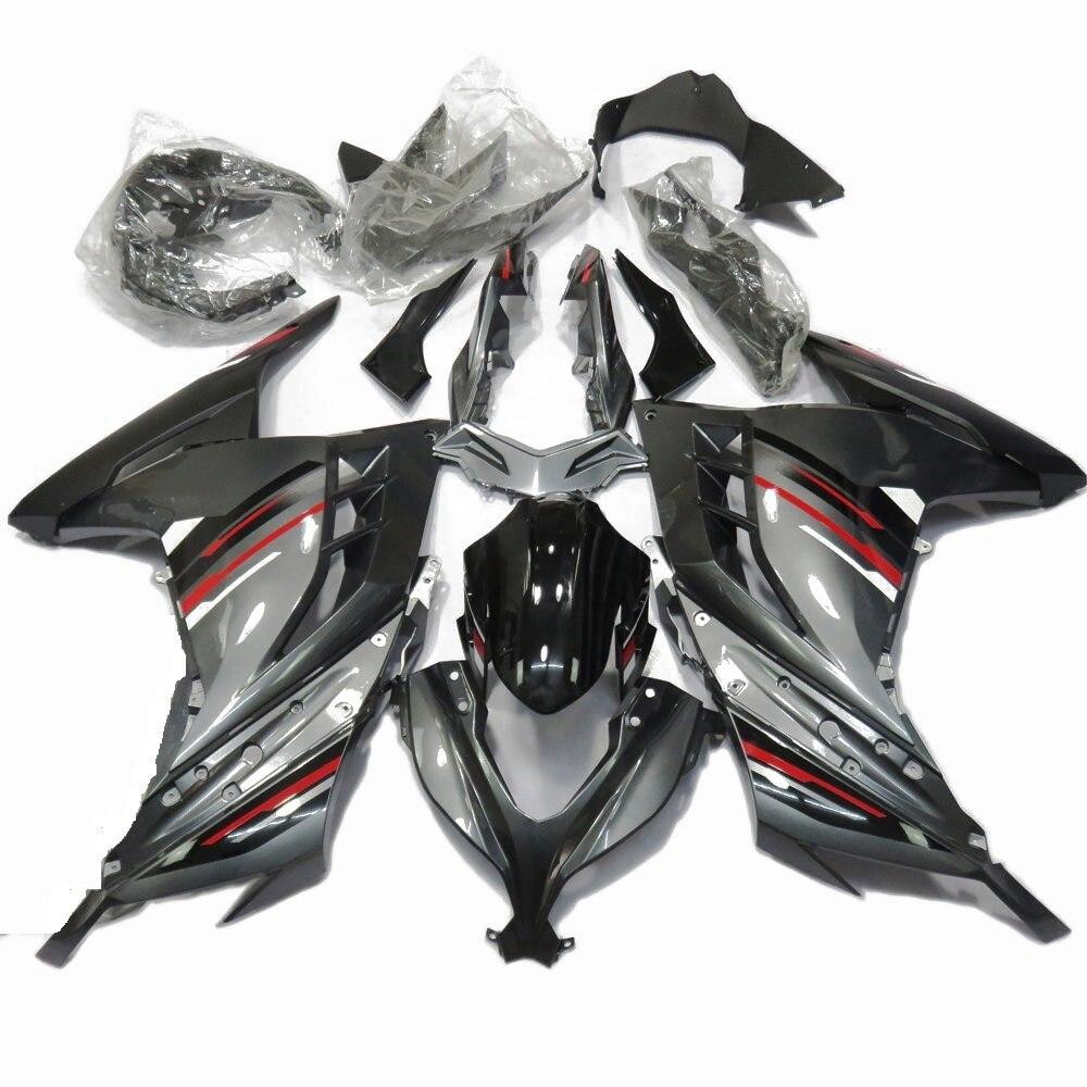 2013-2017 Kawasaki Ninja 300 Unpainted ABS Plastic Injection Fairings Bodywork