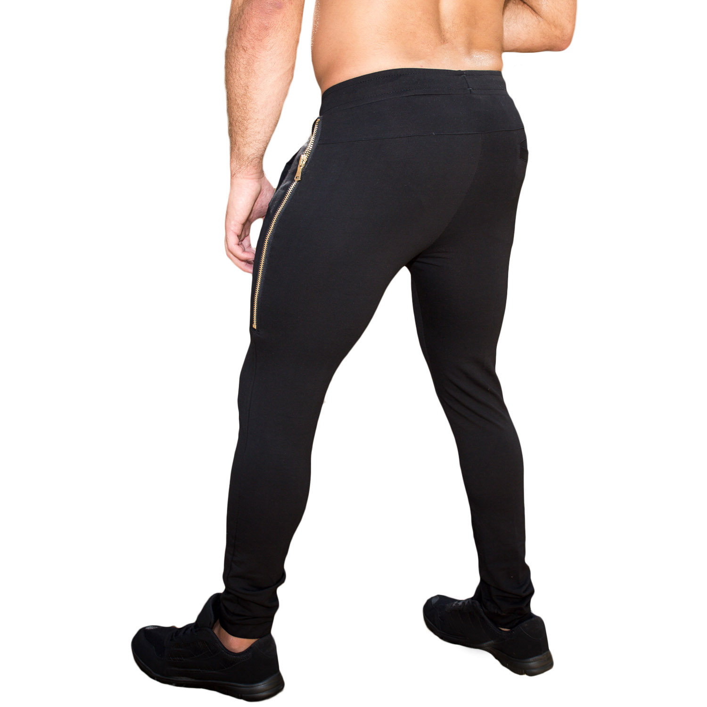 e7d2adf57b815 Taddlee Marque Leggings Hommes Pantalon Gym Jogging Maigre De Base ...