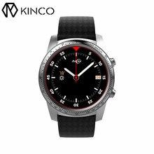 Kinco MT6580m 16 ГБ + 2 ГБ SIM AMOLED GPS WI-FI вызова смартфон часы сердечного ритма Мониторы Водонепроницаемый Спорт браслет для IOS/Android