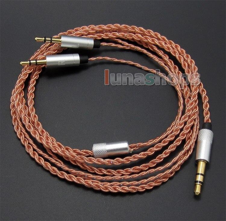TPE Skin OCC Cable For S R Master Tracks HD V8 V10 V12 X3 Headphone