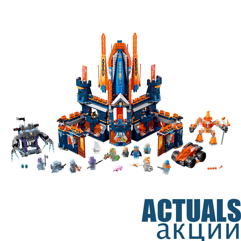 LEPIN 14037 Knighton Castle Nexus Knights Building Blocks Bricks Toys DIY For Kids Model 1295PCS Compatible with legoINGly 70357 2017 lepin 14026 nexus knights building blocks set lance vs lightening minifigures kids gift bricks toys compatible with 70359