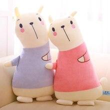 Creative Plush Animal Bear Pillow Doll Funny Sofa Office Cushion Home Decoration Toy Cartoon Bear Doll Child Doll Holiday Gift