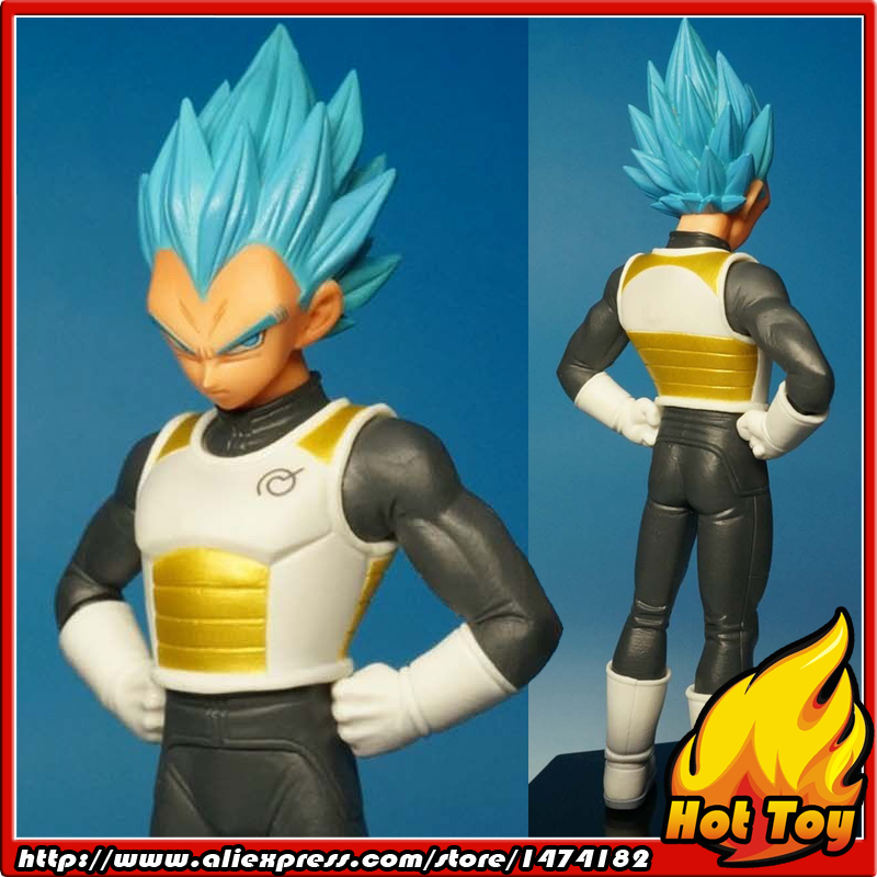 100% Original BANPRESTO Chozousyu Collection Figure Vol.2 - Super Saiyan God SS Vegeta from Dragon Ball Z Resurrection of F