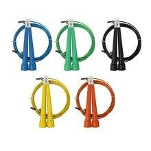 2.5m High Speed Aerobic Steel Wire Skipping Rope Length Adjustable Jump Crossfit Fitness Equipment Skip