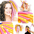 elefunlife Easy Curls Spiral Magic Curls Styling Kit mix Party Hair work Hair Rollers Hook kit