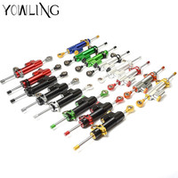 Motorcycles Steering Stabilize Damper Reversed Safety For Yamaha FZ1 FZ6 FJR1300 FZR600 FZR400 R1 R3 R6 XSR900 Vmax 1200 1700
