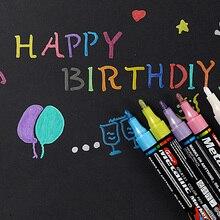 1 шт. 3 мм Цветные Металлические маркеры для рисования Подарочная открытка на день рождения альбом серебряный золотой белый маркер