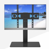 Tabletop TV Table Monitor Stand Universal TV Desk Stand/Base LCD LED TV Table Wall Mount for 26 to 55 inch Flat screen