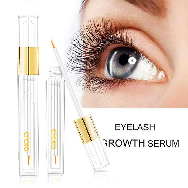 ce1f0ea39cf ... EFERO Eyelash Growth Serum Curling Eyelash Enhancer Mascara Essence  Natural Longer Thicker Lashes Eyelashes for Makeup ...