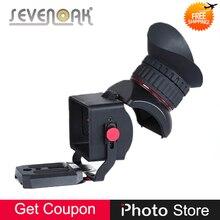 Sevenoak SK-VF Pro 1 3.0X Ampliação Flip-up Visor De Vídeo para Canon Nikon Olympus Lumix Câmeras SLR 3 3.2 polegada LCD tela