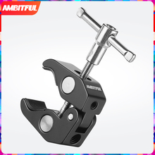 AMBITFUL Magic Articulated Arm Crab Claw Clamp Tongs Pliers Clip Bracket for Studio Flash Light LED Light Tripod Monopod