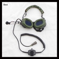 Surplus Original Surplus Chinese Military Army Armored Car Earphone With Mike