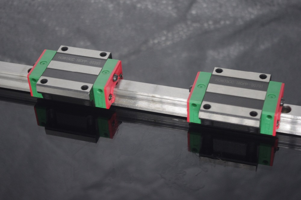 CNC 20mm Rail Linéaire Set HGR20 Glisser Guide avec HGW20CA Bloc De Transport HGW20 HGW20CA