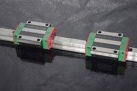 CNC 20mm Linear Rail Set HGR20 Slide Guide with HGW20CA Carriage Block HGW20 HGW20CA