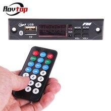 Rovtop беспроводной Bluetooth автомобильный аудио USB fm-радио модуль 5 В/12 в MP3 WMA декодер доска TF MP3-плеер с пультом дистанционного управления Z2