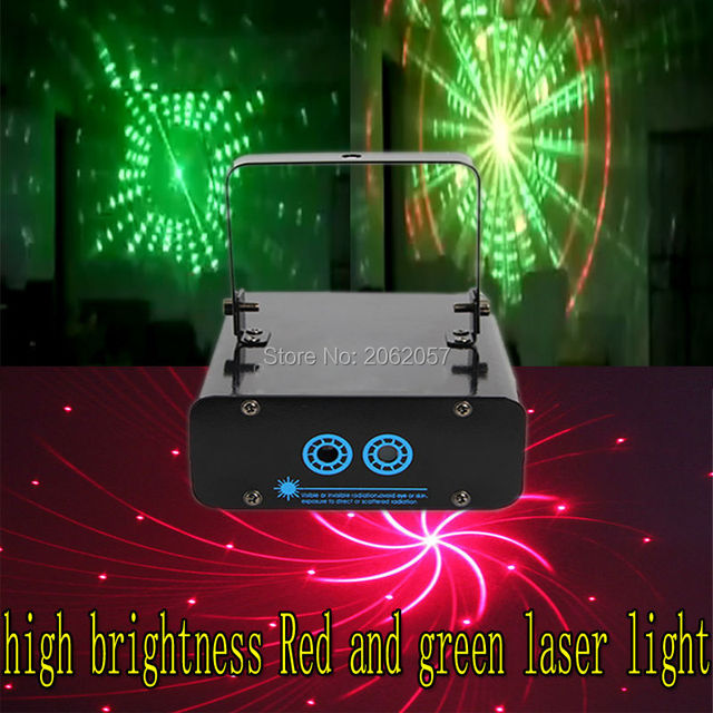 high brightness rg laser light disco dj christmas laser light show projector sound control holiday party