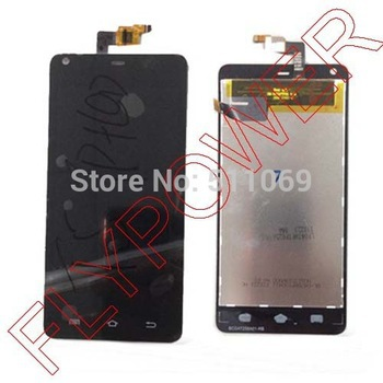 ФОТО For THL T5 LCD Display + Digitizer Touch Screen Assembly  black by free shipping