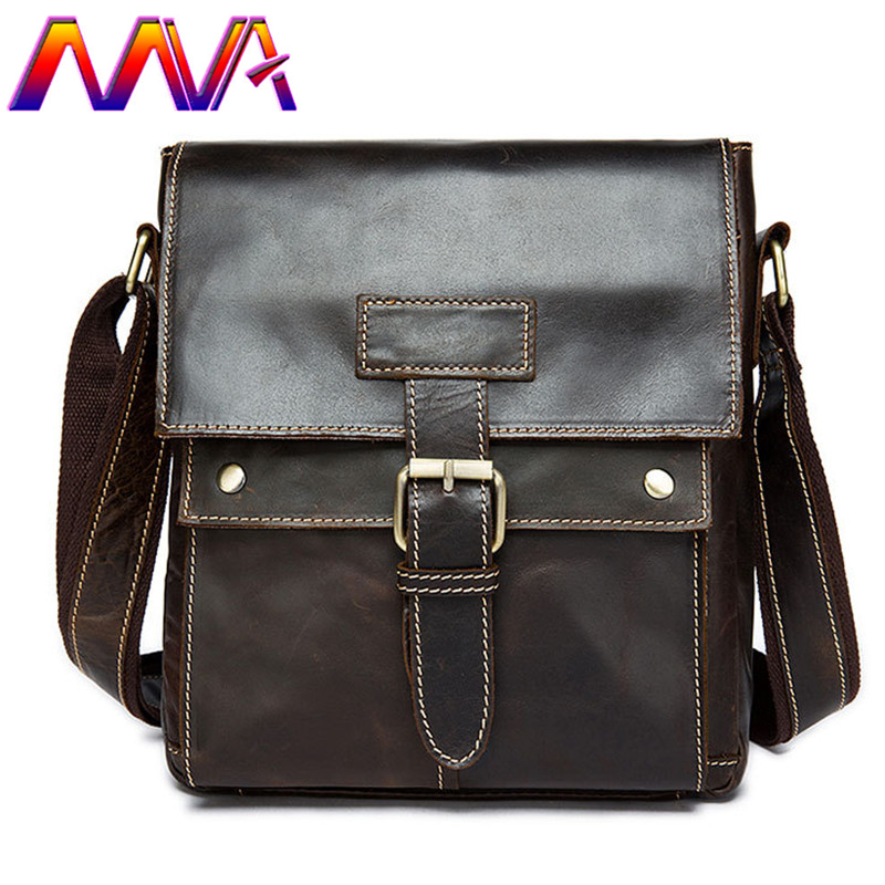 MVA Cheap price cow leather men messengers bag with quality cow leather men handbag of promotion mens vertical shoulder bags cow milk of sodium carbonate decahydrate cosme cow 430ml