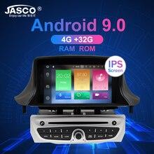 Android 9,0 8,0 Стерео DVD плеер автомобиля GPS навигационная система ГЛОНАСС для Renault Megane 3 Fluence 4 Гб 32 г Видео Мультимедиа Радио